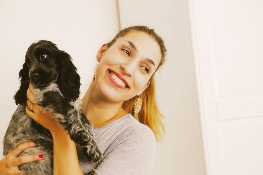 Auch Hunde können beim Selbstmarketing helfen