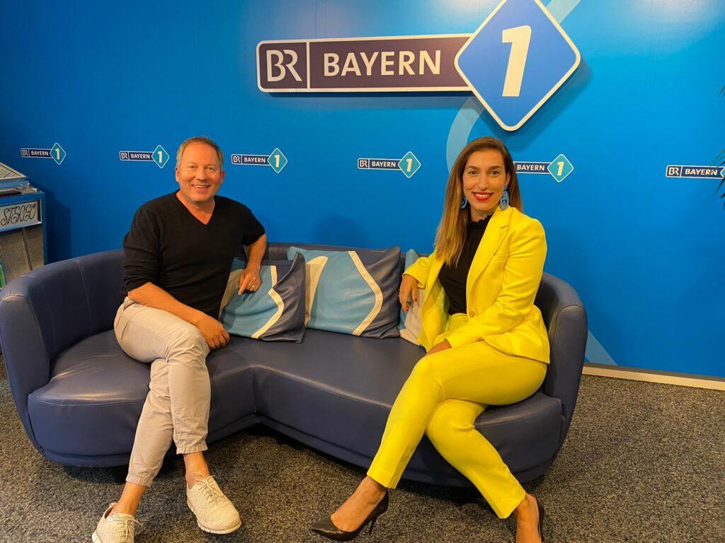 Tijen Onaran zu Gast bei Bayern 1