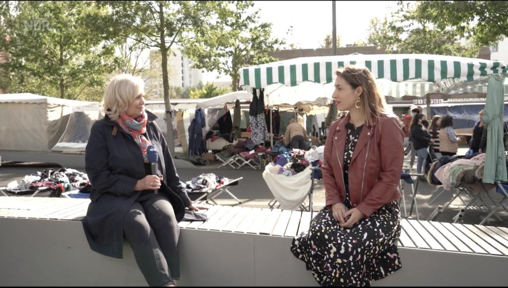 Tijen Onaran im Gespräch mit Kerstin von Stürmer